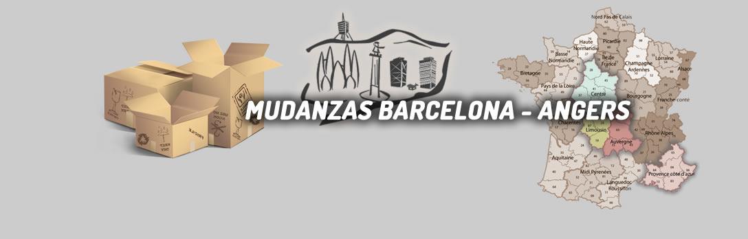 Mudanzas España Angers y toda Francia