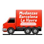 Mudanzas Barcelona Le Havre