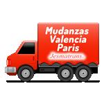 Mudanzas Valencia Paris